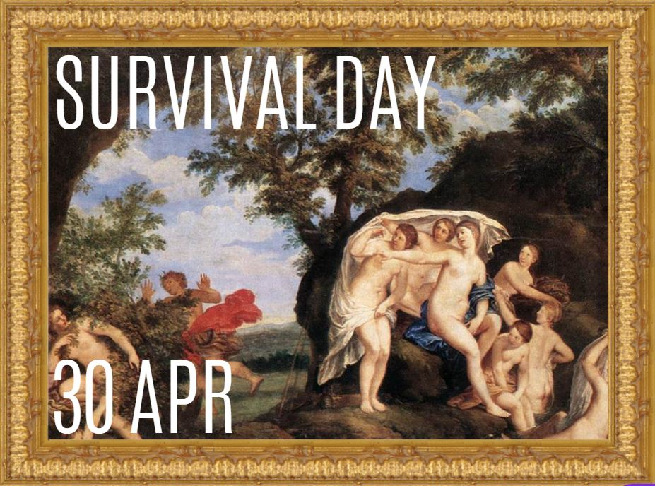Lustrum Week Day 2: Survival Day