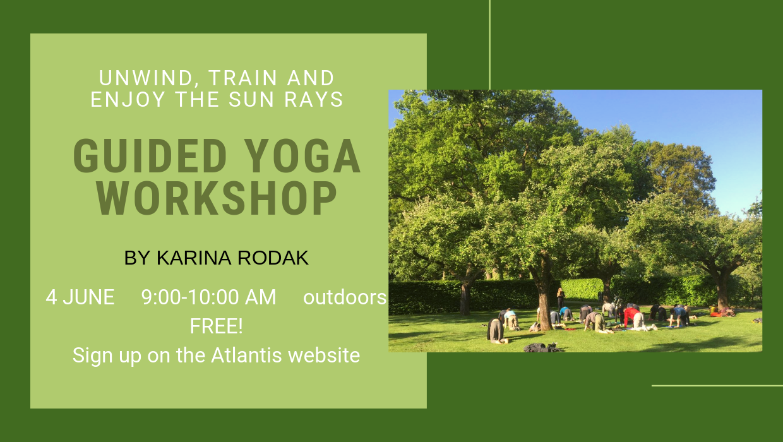 Yoga Workshop with Karina