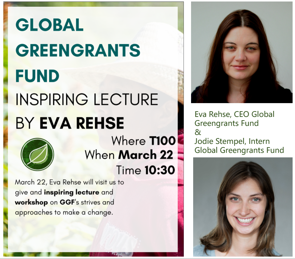 Global Greengrants Fund - Inspiring lecture